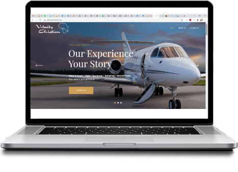 Sutherland Sites Website Creation | Velocity Aviation